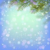 fir-tree branches