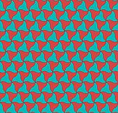 Elegant abstract ripple seamless vector blue background pattern wrap