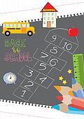 Hopscotch - back to school