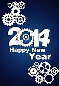 2014 Mechanical Gear new year