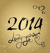 lovely year happy new year card wit