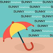 Umbrella on Sun