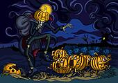 Night of runaway pumpkins