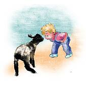 Little Boy and Lamb