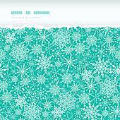 Snowflake Texture Horizontal Torn Seamless Pattern Background