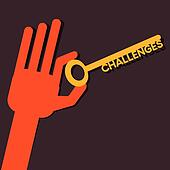 Challenges key in hand