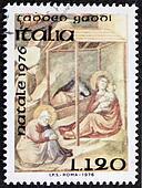 Christmas postage stamp bis