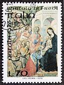Christmas postage stamp ter