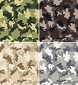 Camouflage Seamless Patterns