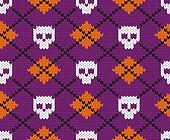 Seamless fabric pattern.