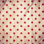 Seamless Background with red Polka Dot pattern
