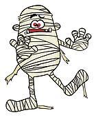 Creepy mummy