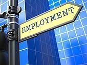 Employment. Business Concept.