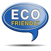 eco friendly or bio sign