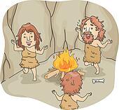 Caveman Family Dance