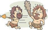 Caveman Food Fight