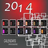 Infographic Calendars
