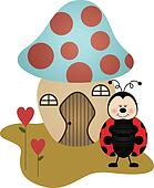 House Ladybird Mushroom