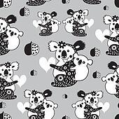 texture funny koala