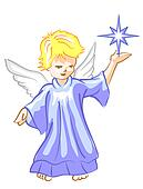 Angel with Star Lightl
