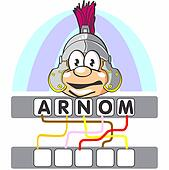 Word game with the roman soldier