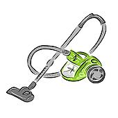 Vacuum cleaner, sketch for your design