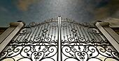 Heavens Closed Ornate Gates