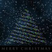 Wonderful Christmas background design illustration