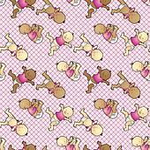 Diaper dance wallpaper