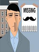 Missing Movember Mustache