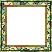 Mosaic frame for photography.
