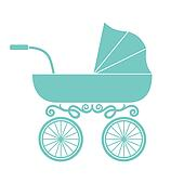 Clip Art Baby Carriage Clipart baby carriage clip art royalty free gograph pram carriage