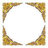 floral pattern frame