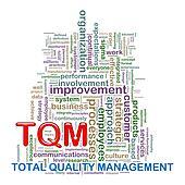 Word tags wordcloud of tqm