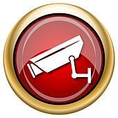 Surveillance camera icon
