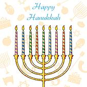 Hanukkah Background
