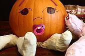 Pumpkin Baby Closeup