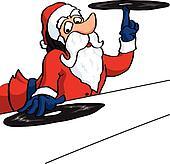 Dj Santa Claus on vinil records