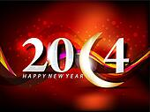 vector new year 2014