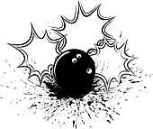 Bowling Splatter Pow