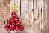 Jingle bells shaped like a Christmas tree