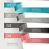 Modern Infographic Banners backgrou