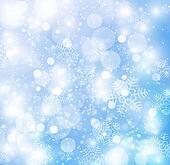 Elegant christmas background with beautiful snowflakes
