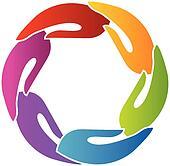 Hands together logo