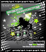 Disk Jockey Music Background