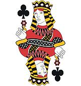 Queen of Clubs no card