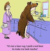Paid a bear