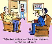 Sick of cooking