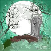 Halloween decorations tombstone