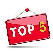 top 5 icon